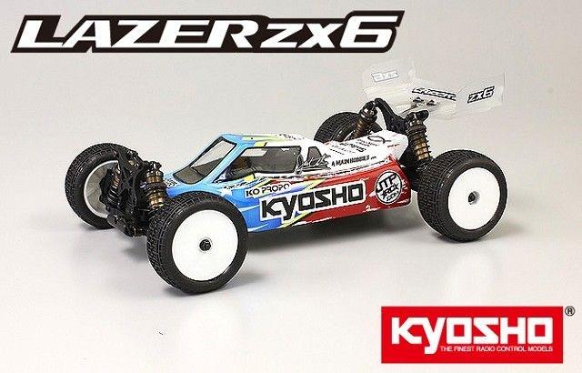 BK 1/10 EP 4WD LAZER ZX-6 Kit