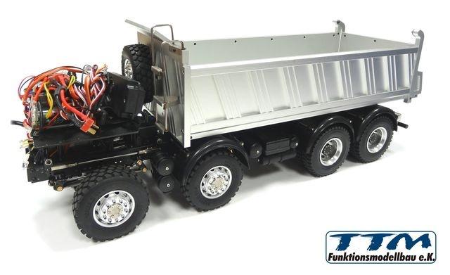 TTM 1:14 8x8 Kipper mit Hydraulik für Tamiya-Fahrerhäuser